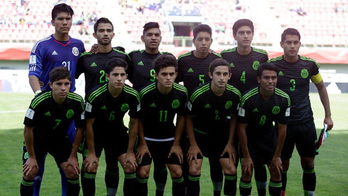 Los datos que debes saber de México, el rival de Chile en el Mundial Sub 17