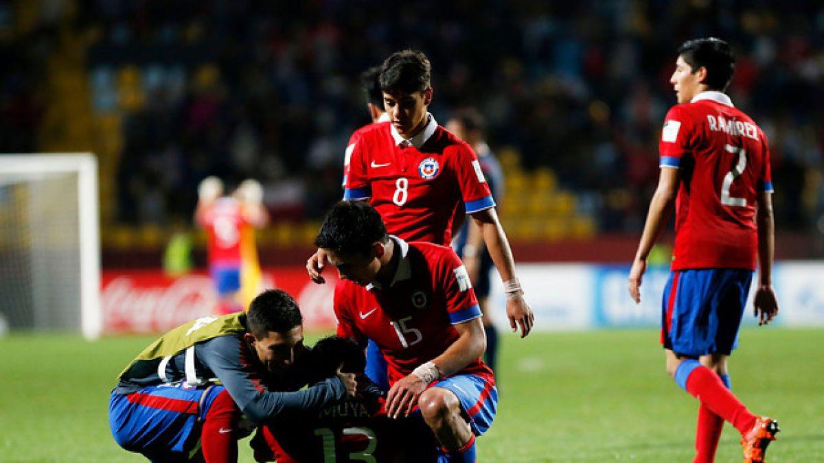Chile confirma alineación para enfrentar a México por los octavos del Mundial Sub 17