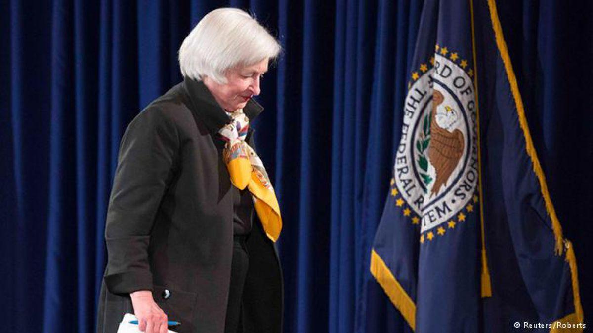 Janet Yellen, presidenta de la Reserva Federal de EE. UU.