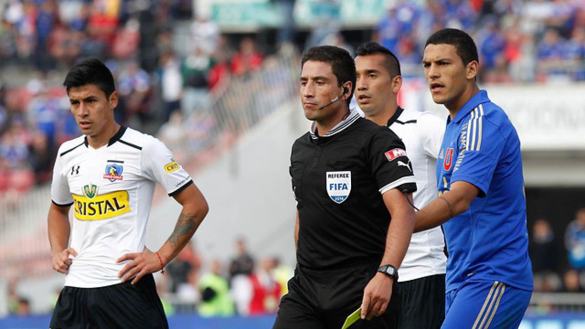 Eduardo Gamboa es el árbitro designado para duelo Colo Colo-Universidad de Chile