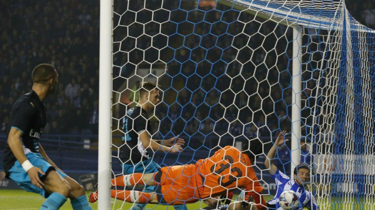 ¡Sorpresa total! Arsenal de Alexis eliminado por equipo de 2° División en la Copa de la Liga