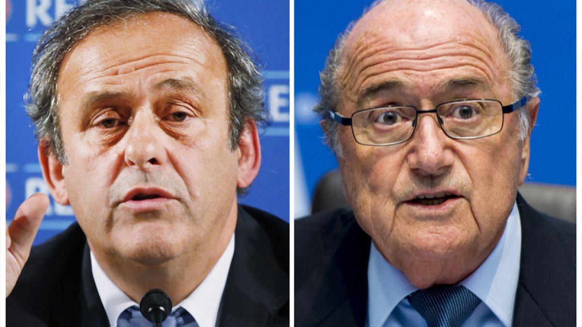 Blatter y Platini afrontan la última etapa antes del veredicto