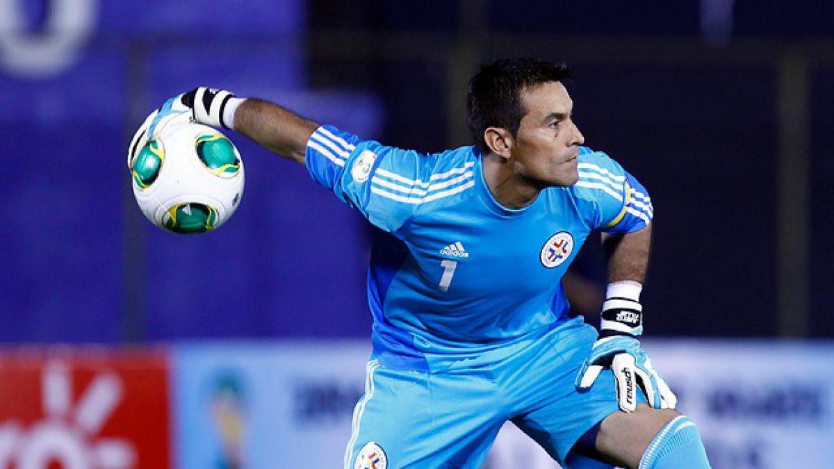Arquero Villar retorna a la nómina de Paraguay de cara a Clasificatorias
