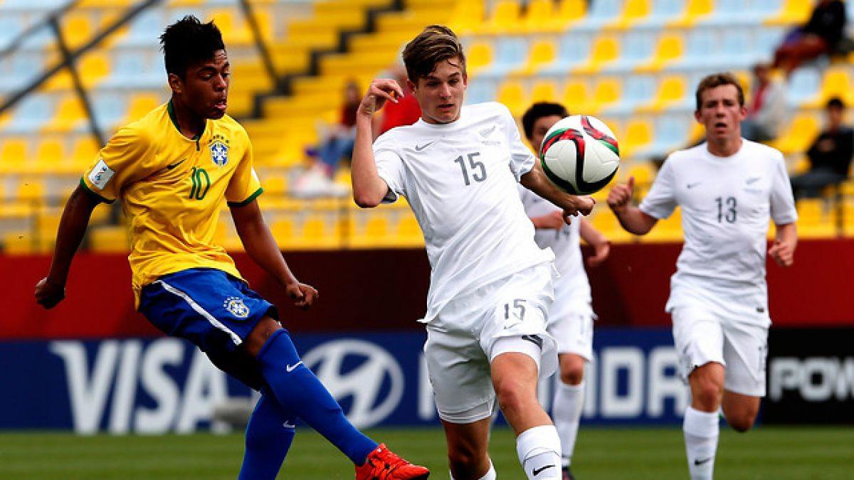 [MINUTO A MINUTO] Brasil vence a Nueva Zelanda en el Mundial Sub 17
