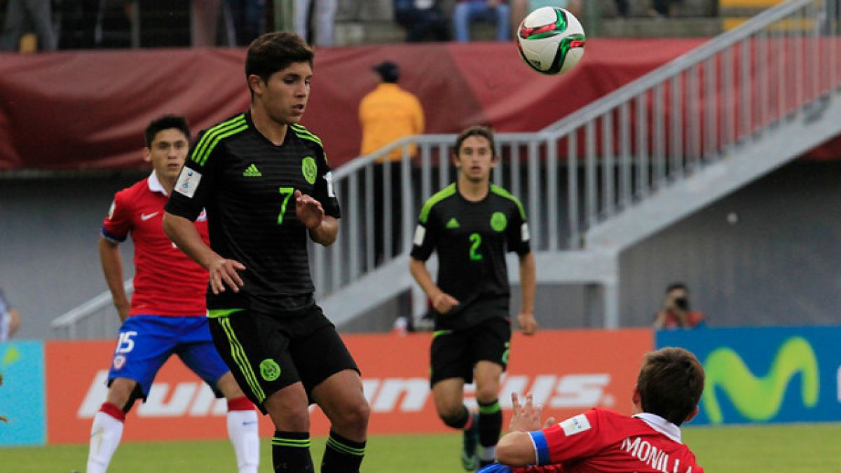 Las estadísticas del partido entre Chile y México