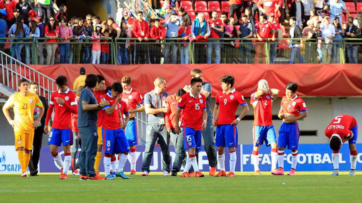 Se acaba el sueño: Chile cae ante México y dice adiós al Mundial Sub 17