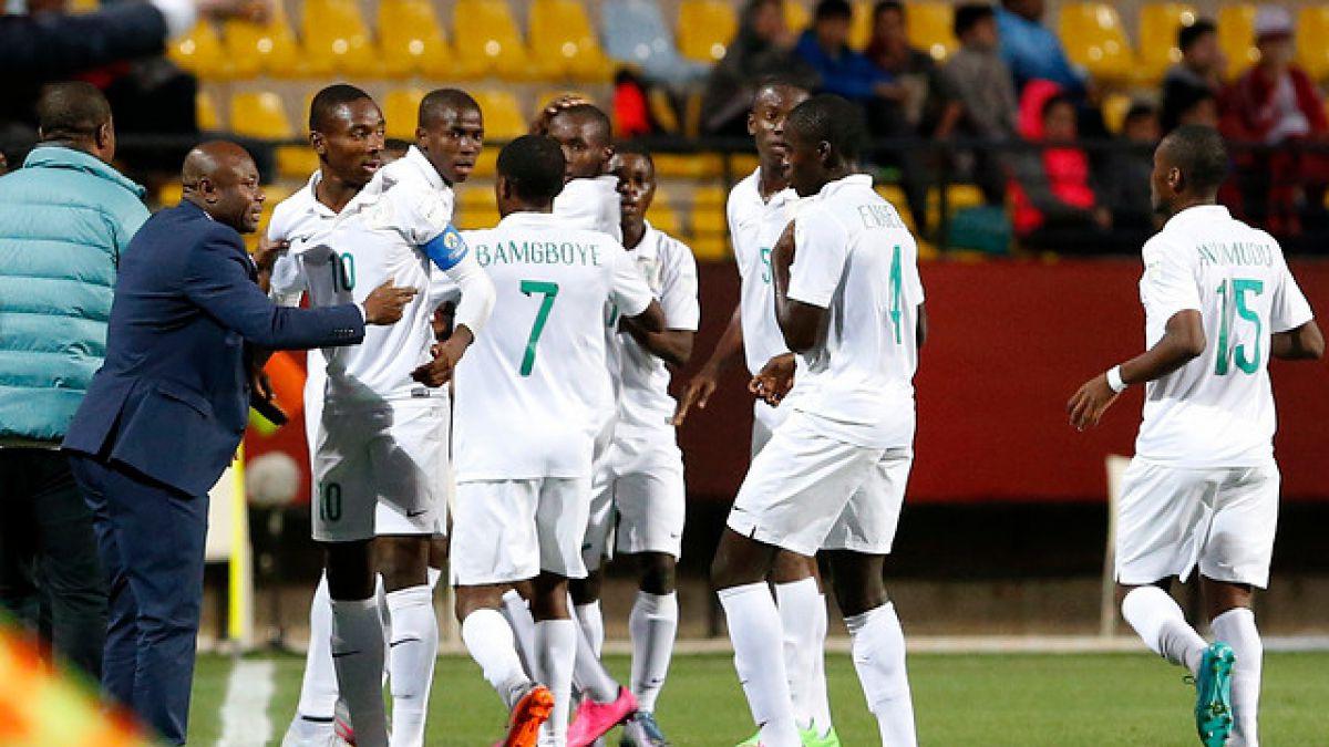 Nigeria muestra sus credenciales al título: Golea y está en cuartos del Mundial Sub 17