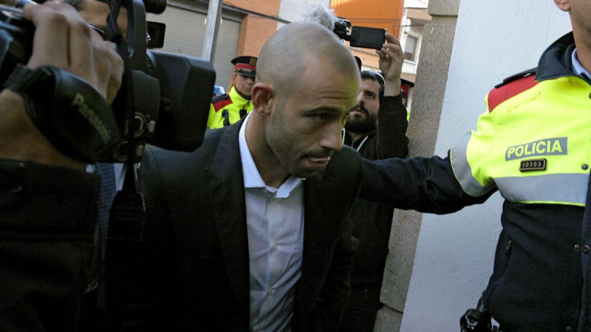 Mascherano reconoce ante juez española un fraude de 1,5 millones de euros