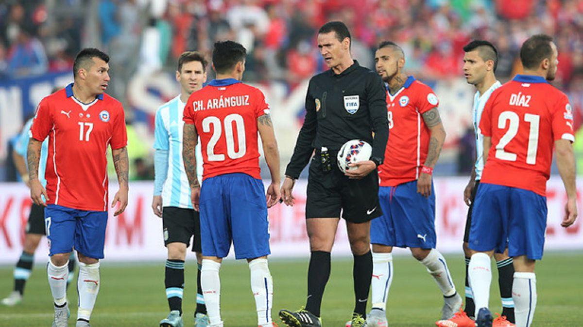 Un viejo conocido arbitrará Uruguay versus Chile en las Clasificatorias