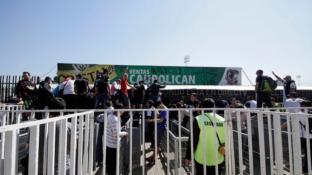 Incidente con balazos se registra durante venta de entradas para Superclásico en el Monumental