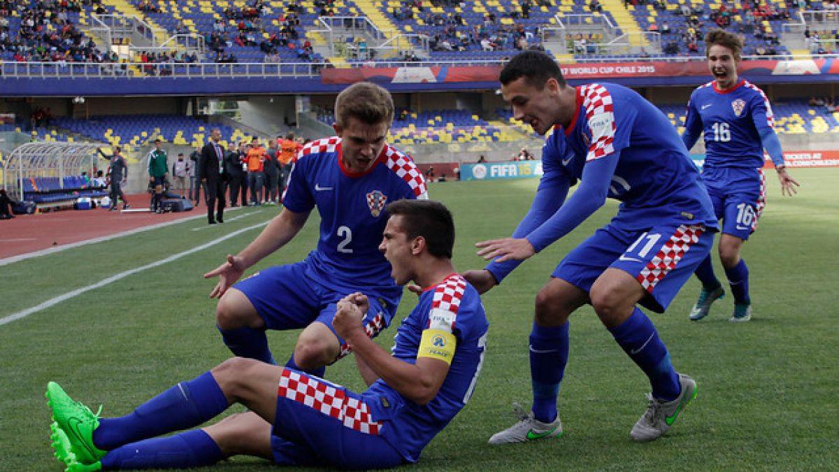 ¡Sorpresa total! Croacia vence a Alemania y clasifica a cuartos del Mundial Sub 17