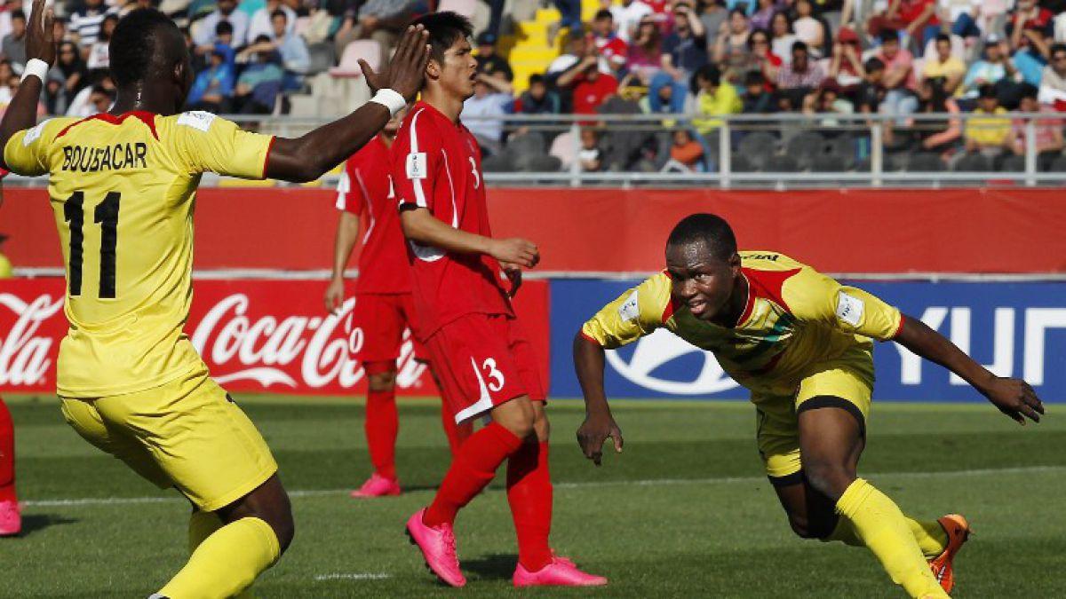 Malí apabulla a Corea del Norte y logra pasajes a cuartos del Mundial Sub 17