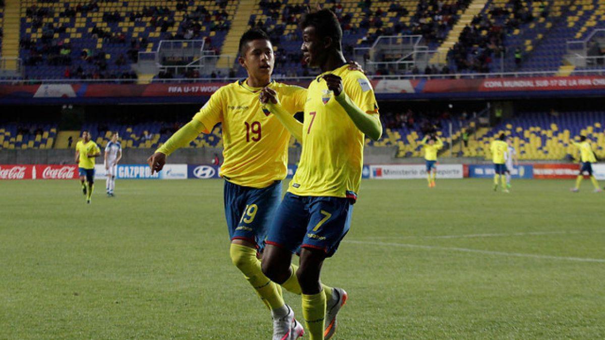 Ecuador se suma a Brasil en los cuartos de final del Mundial Sub 17