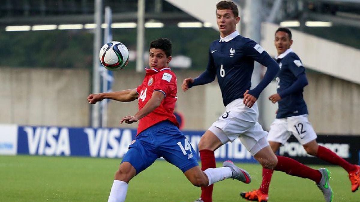 Costa Rica da el batacazo al eliminar a Francia por penales en el Mundial Sub 17