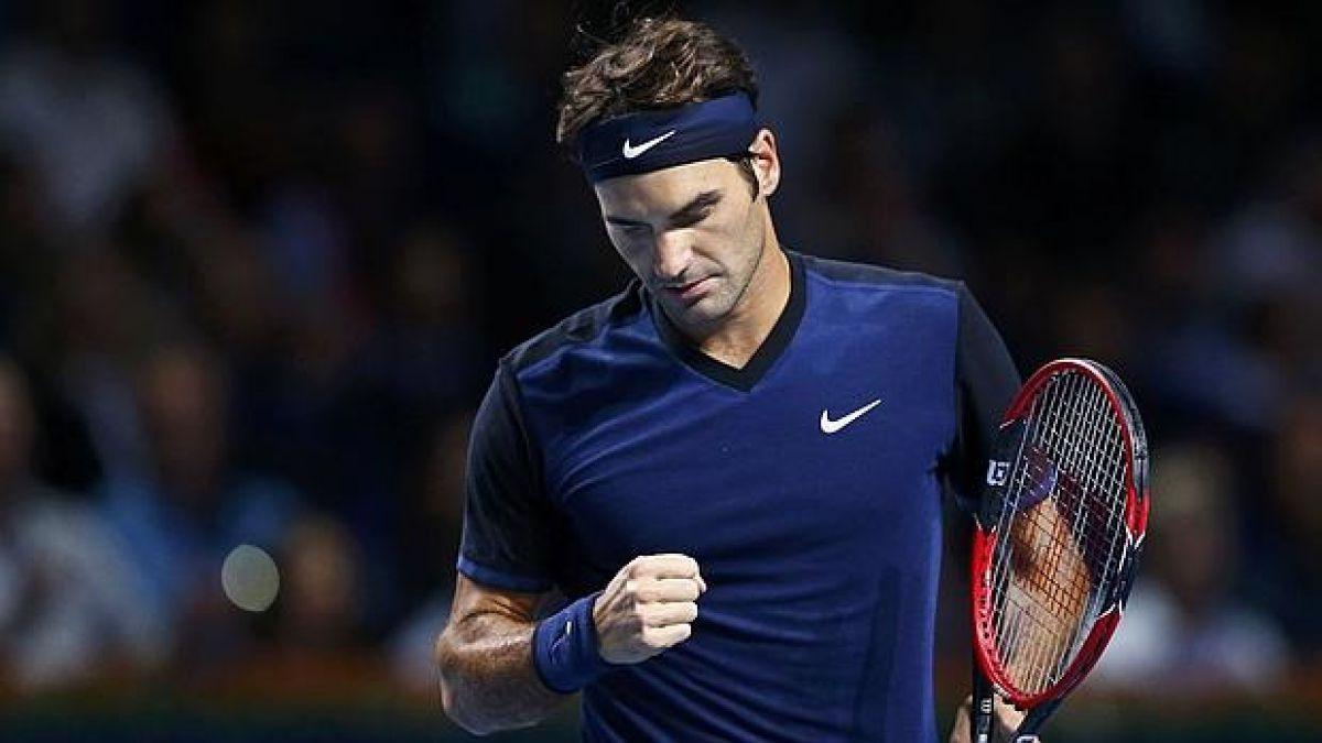 Roger Federer revoluciona al público con magistral jugada en Basilea