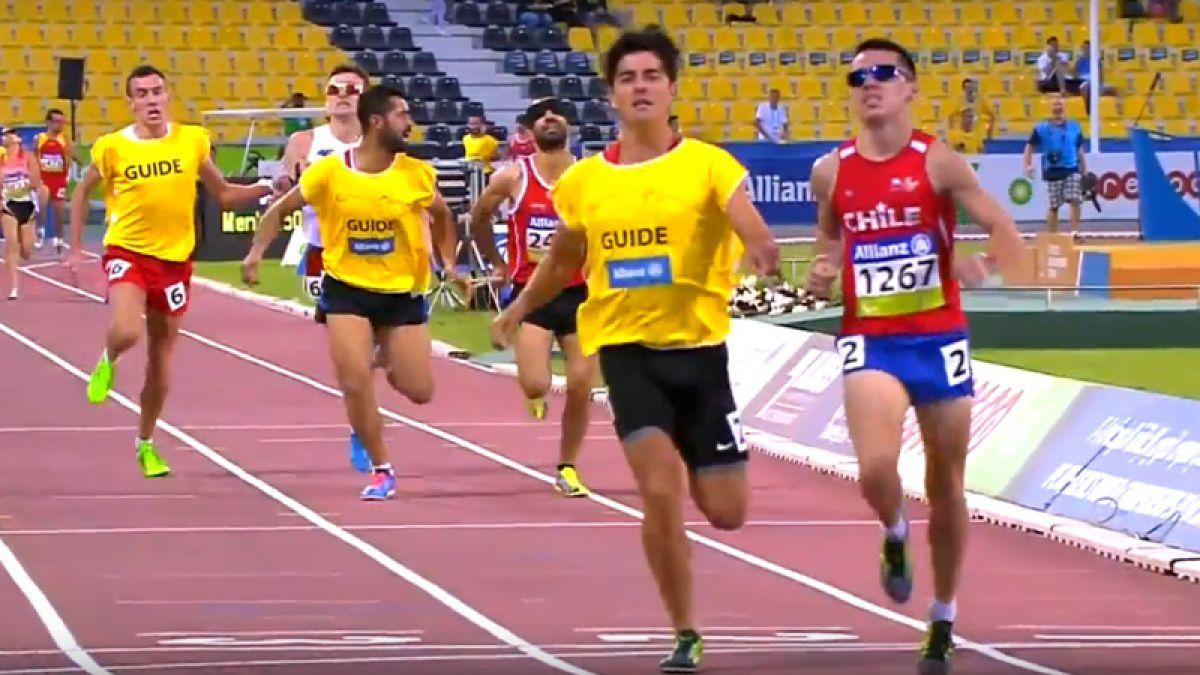 [VIDEO] Otra medalla: Plata para Cristián Valenzuela en los 1500 metros