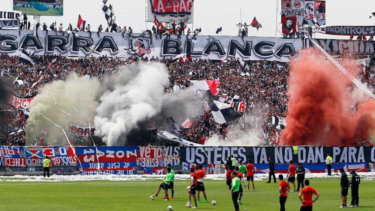 """Más de 10 mil hinchas protagonizan """"arengazo"""" en Colo Colo previo al Superclásico"""