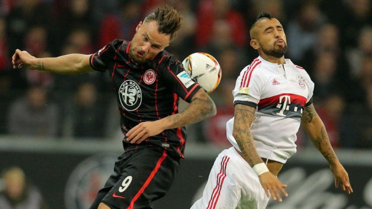 Frankfurt frena racha triunfal del Bayern Munich de Arturo Vidal