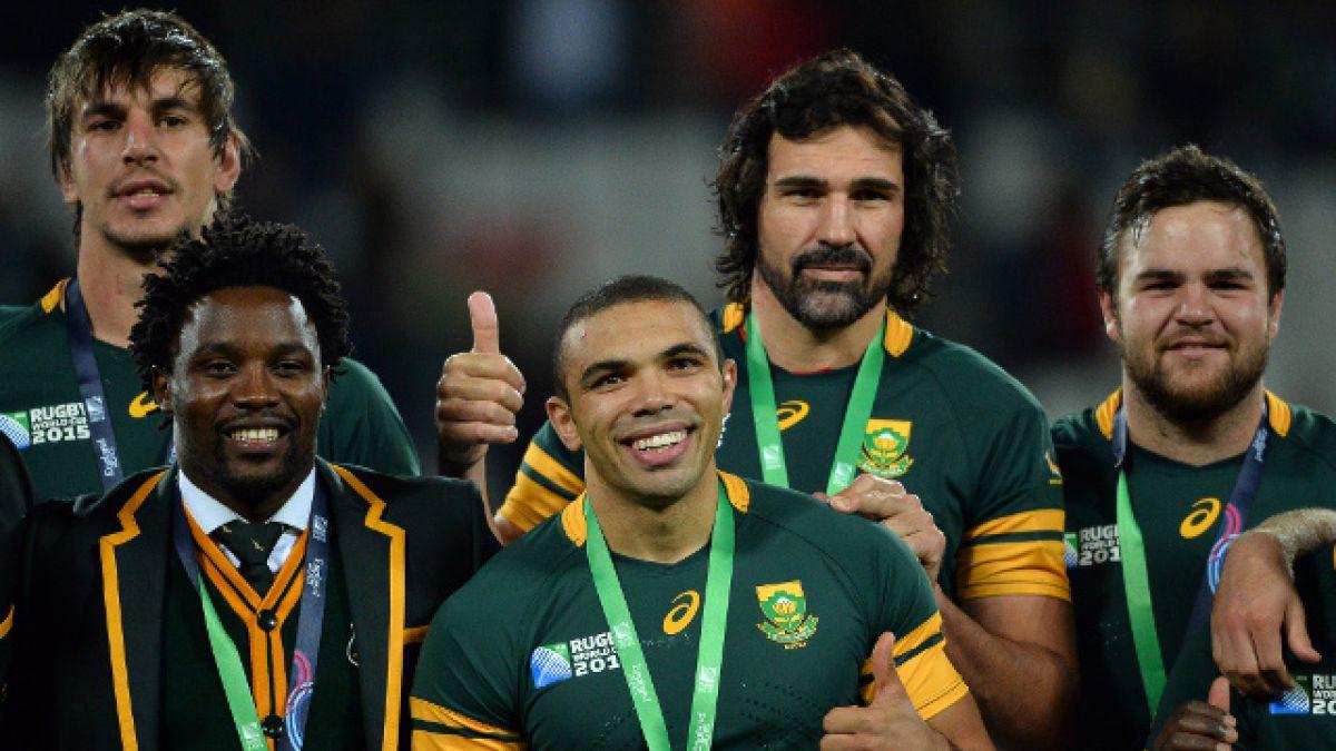 Mundial de Rugby: Sudáfrica es tercero y deja a Argentina con las manos vacías