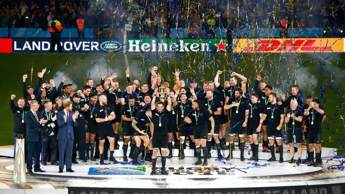 Nueva Zelanda tricampeón: Los All Blacks vencen a Australia en el Mundial de Rugby