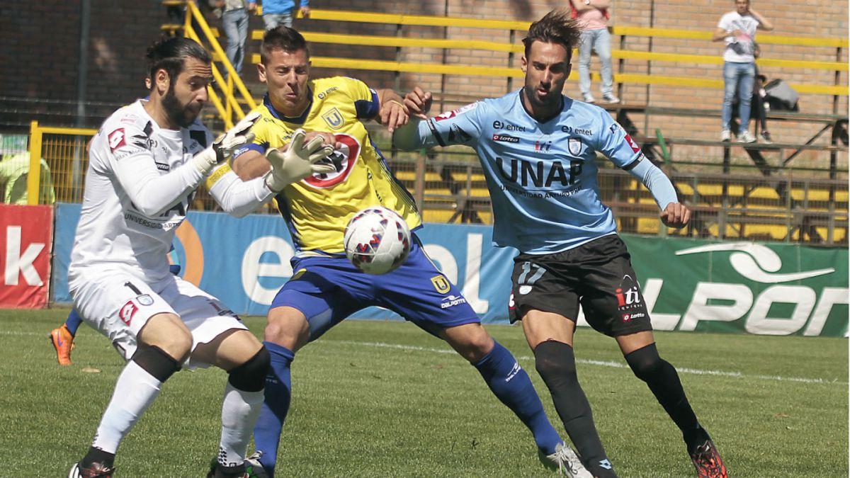 U. de Concepción empata con Iquique y se aleja del puntero Colo Colo