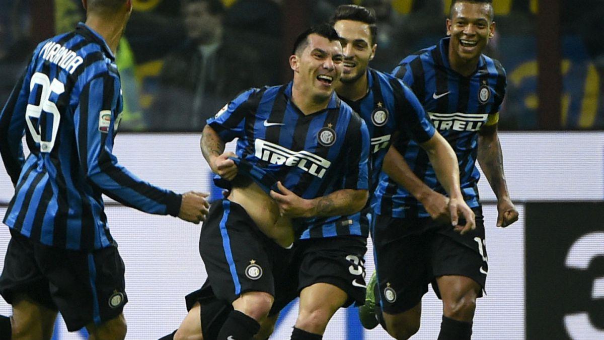 [VIDEO] Gary Medel anota golazo y permite triunfo de Inter sobre Roma
