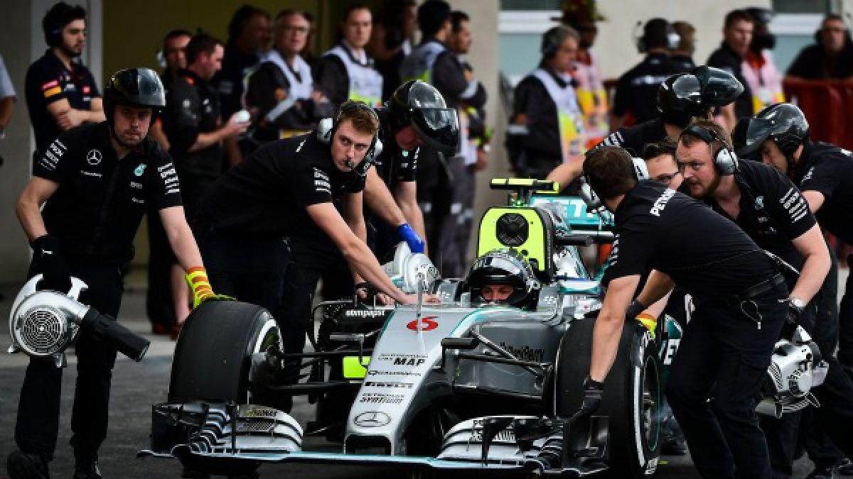 Nico Rosberg largará en primera posicion en el Gran Premio de México