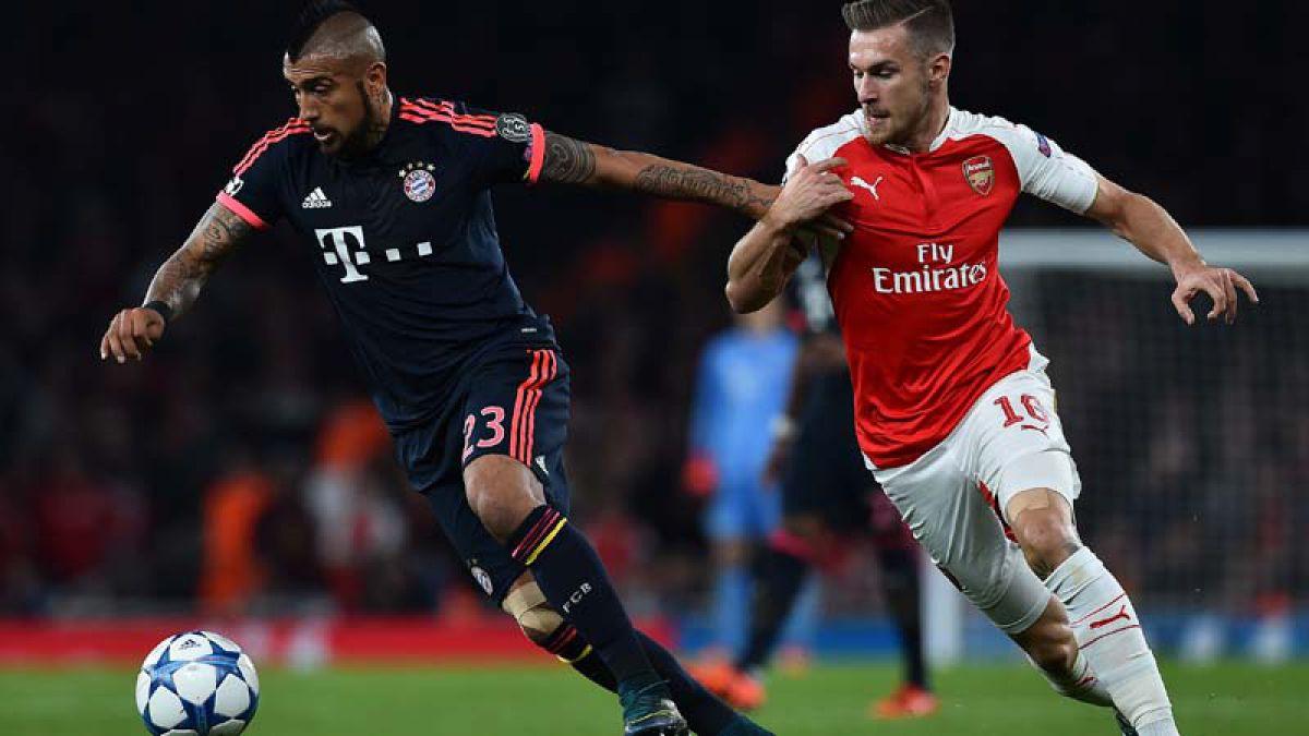 Vidal y Alexis vuelven a verse las caras en la Champions League