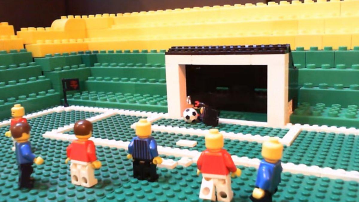 [VIDEO ] Así fue el golazo de Gary Medel por el Inter en versión Lego