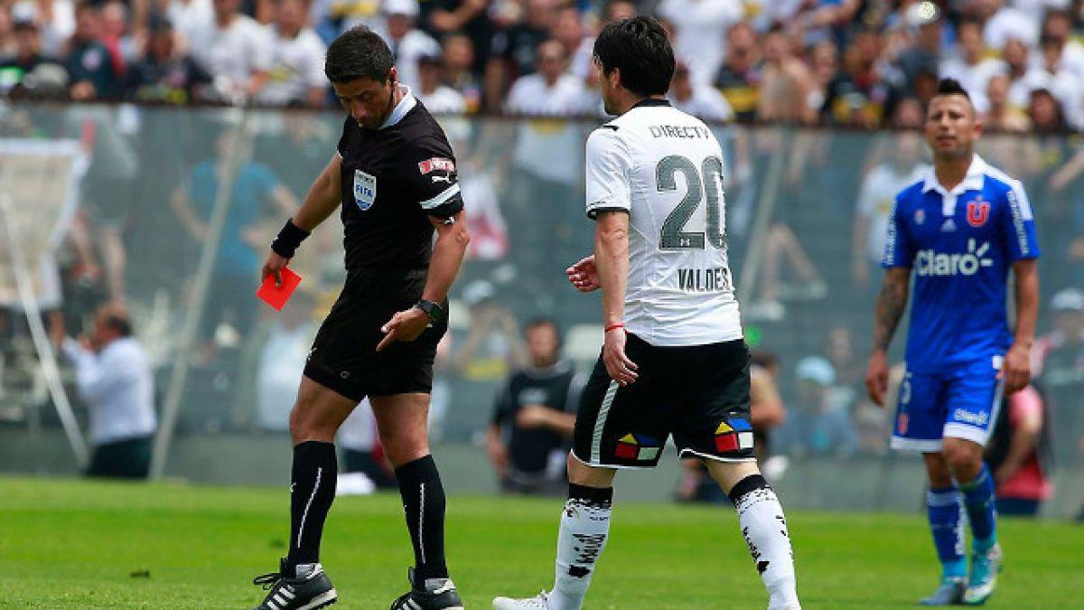 Juez Gamboa no consigna agresión de Jaime Valdés en su informe del Superclásico