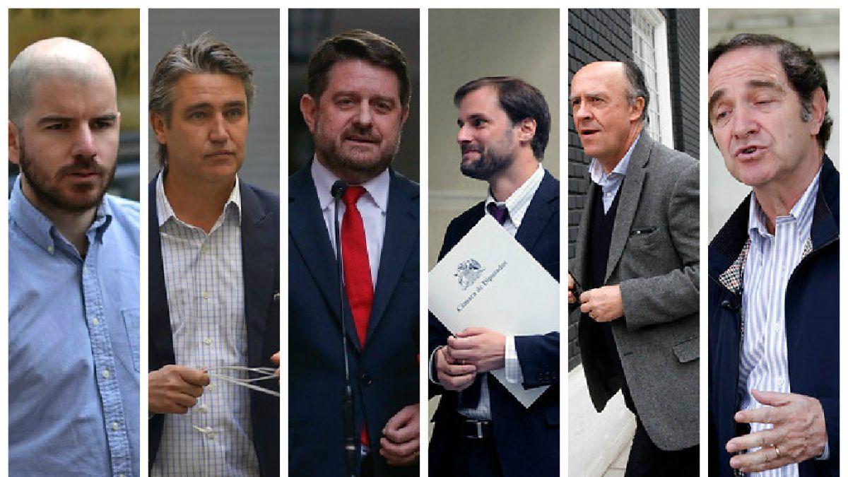 Once figuras de la política que algún día presidieron la FEUC
