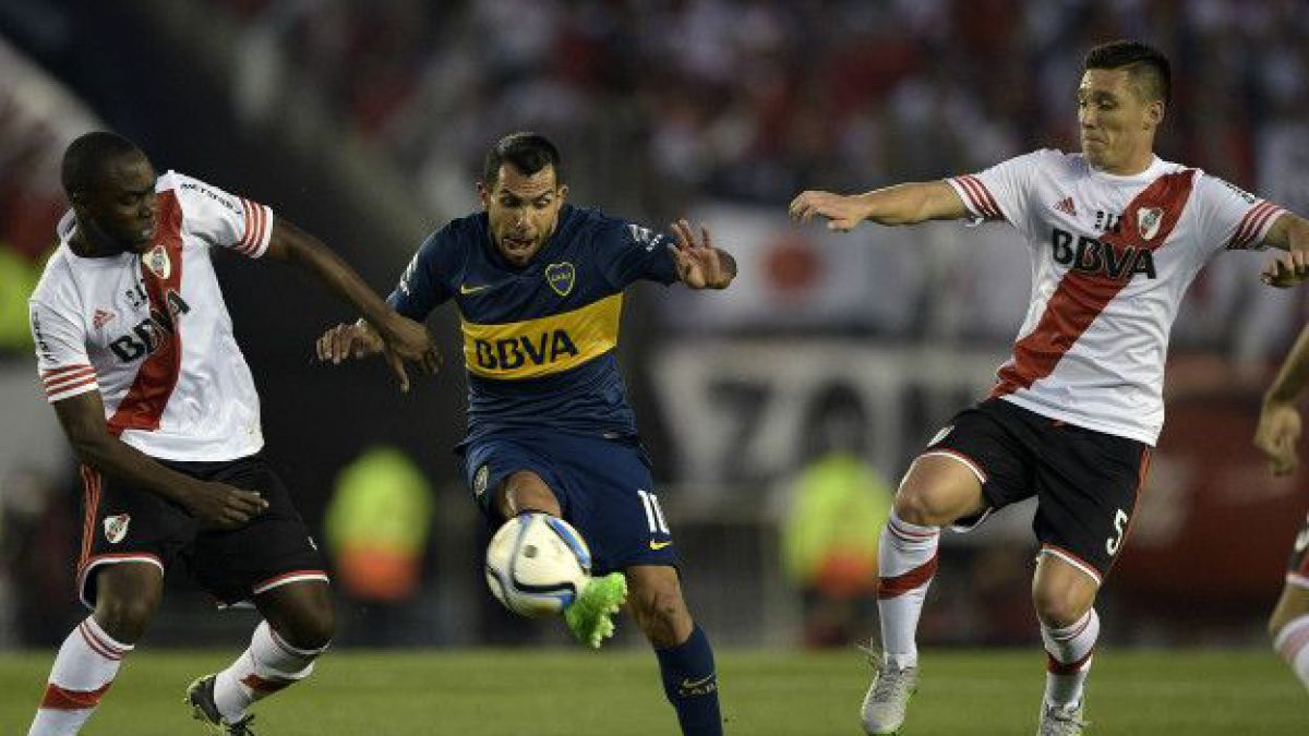 Superclásico de Argentina: A golpes terminó el partido