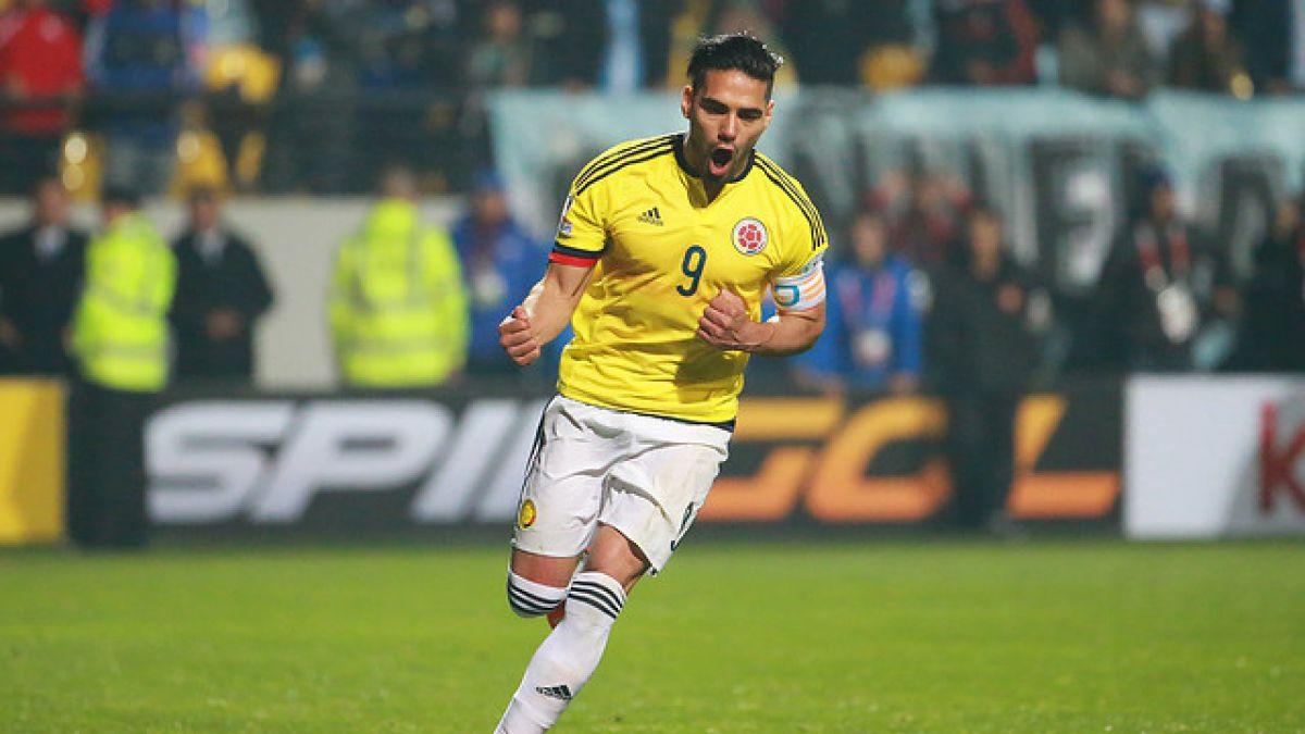 """Radamel Falcao sufre """"lesión muscular importante"""" y es duda para duelo con la """"Roja"""""""