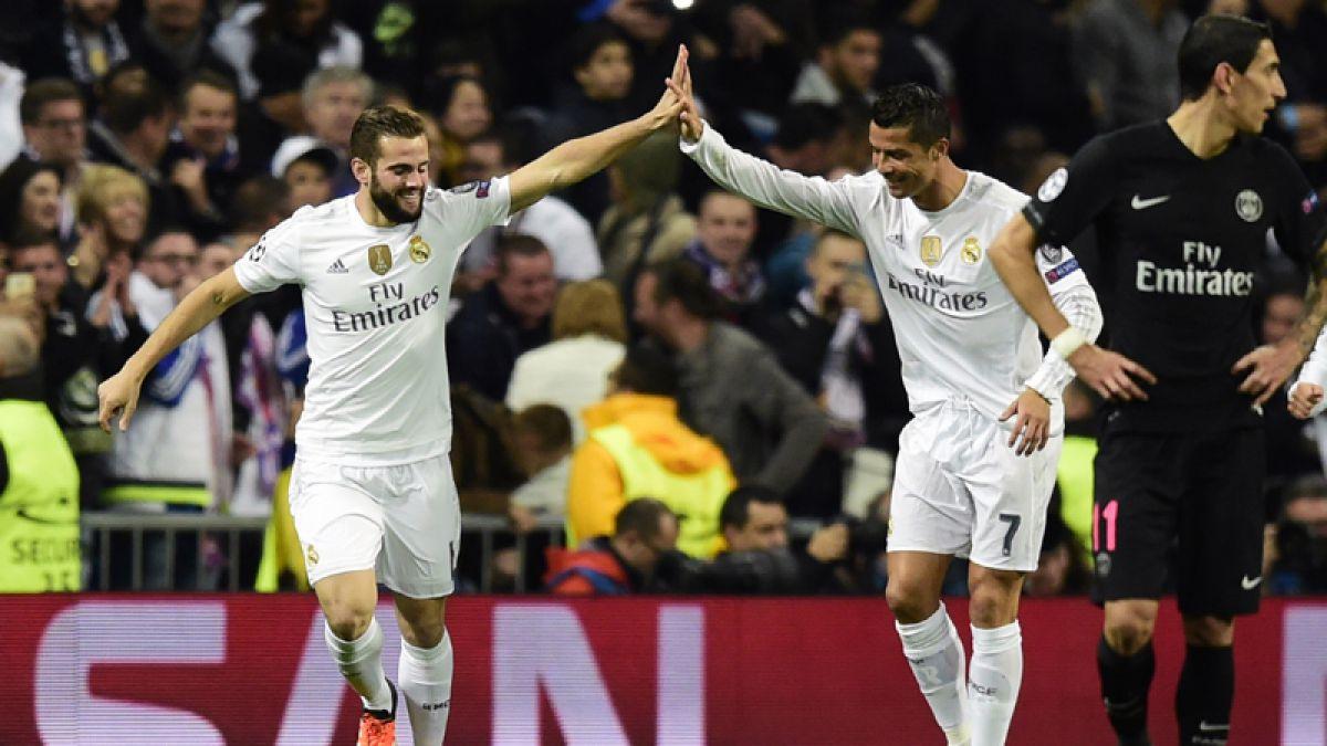 Real Madrid triunfa sobre el PSG y saca pasajes a octavos de la Champions