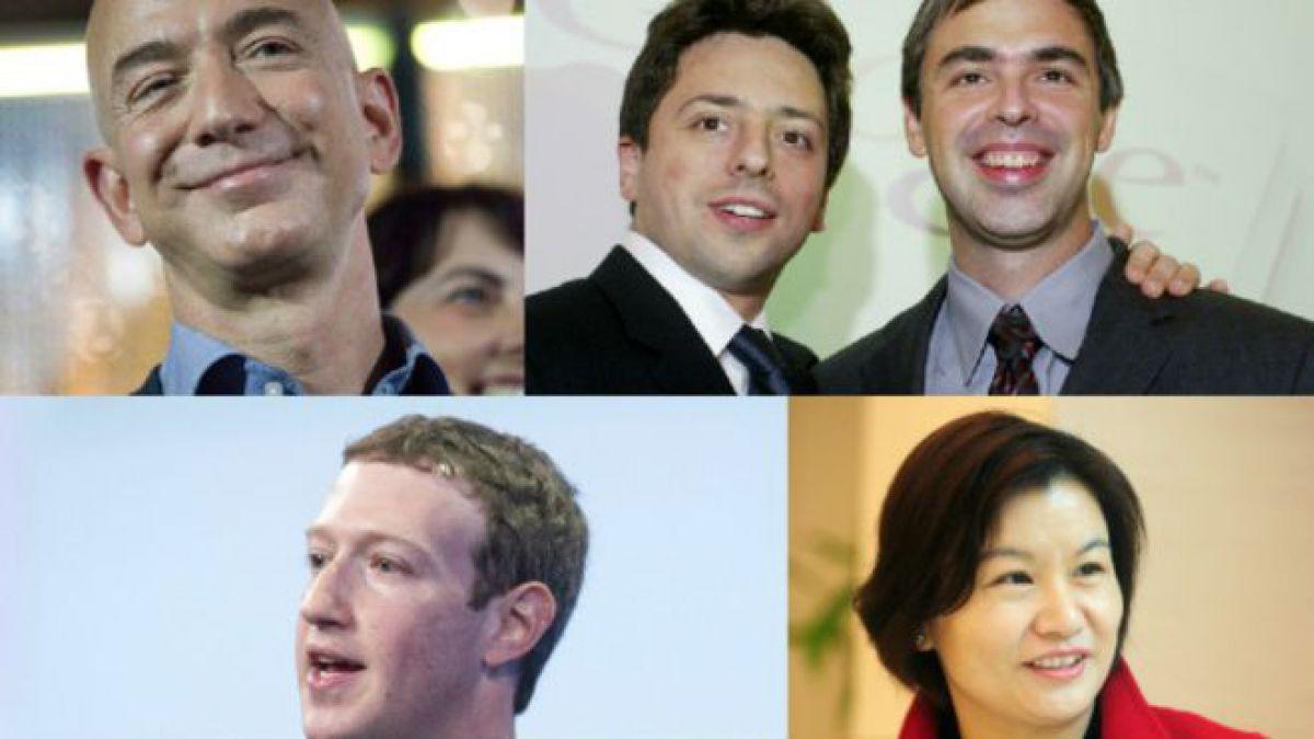 La descomunal fortuna de los 5 magnates tecnológicos que más ganaron en 2015