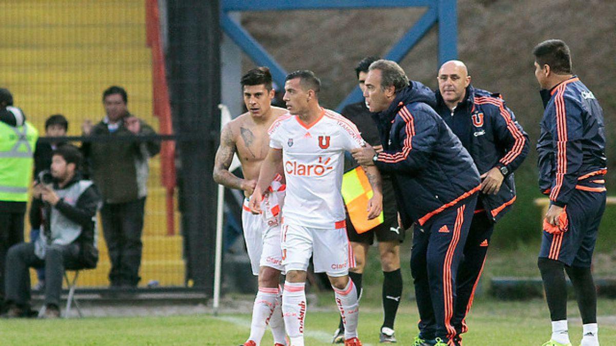 DT de la U da respaldo total a Patricio Rubio tras triunfo en Copa Chile