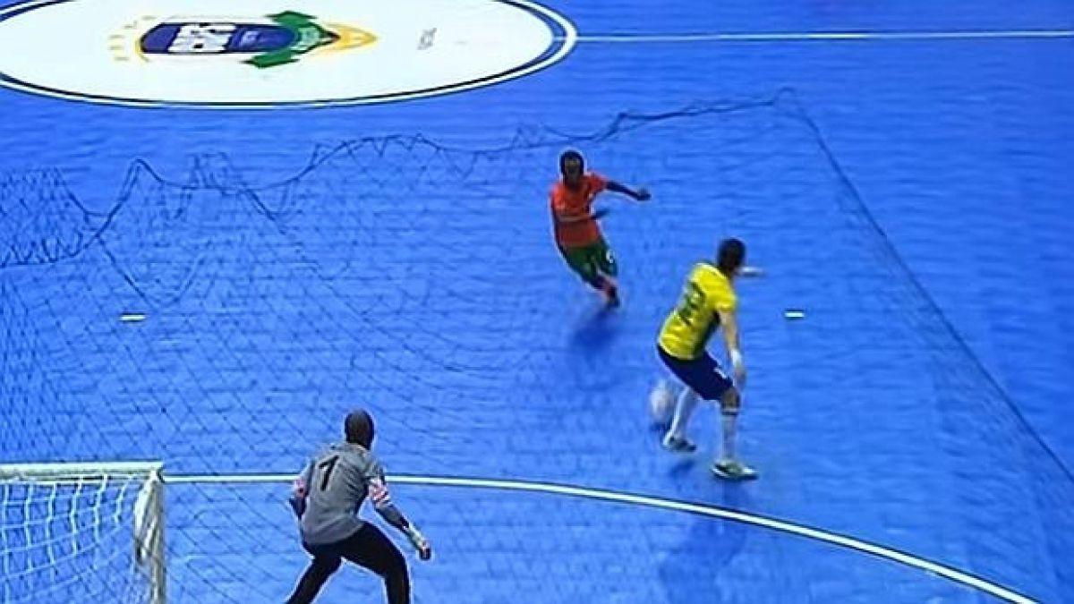 La última travesura del gran Falcao, el genio brasileño del fútbol sala