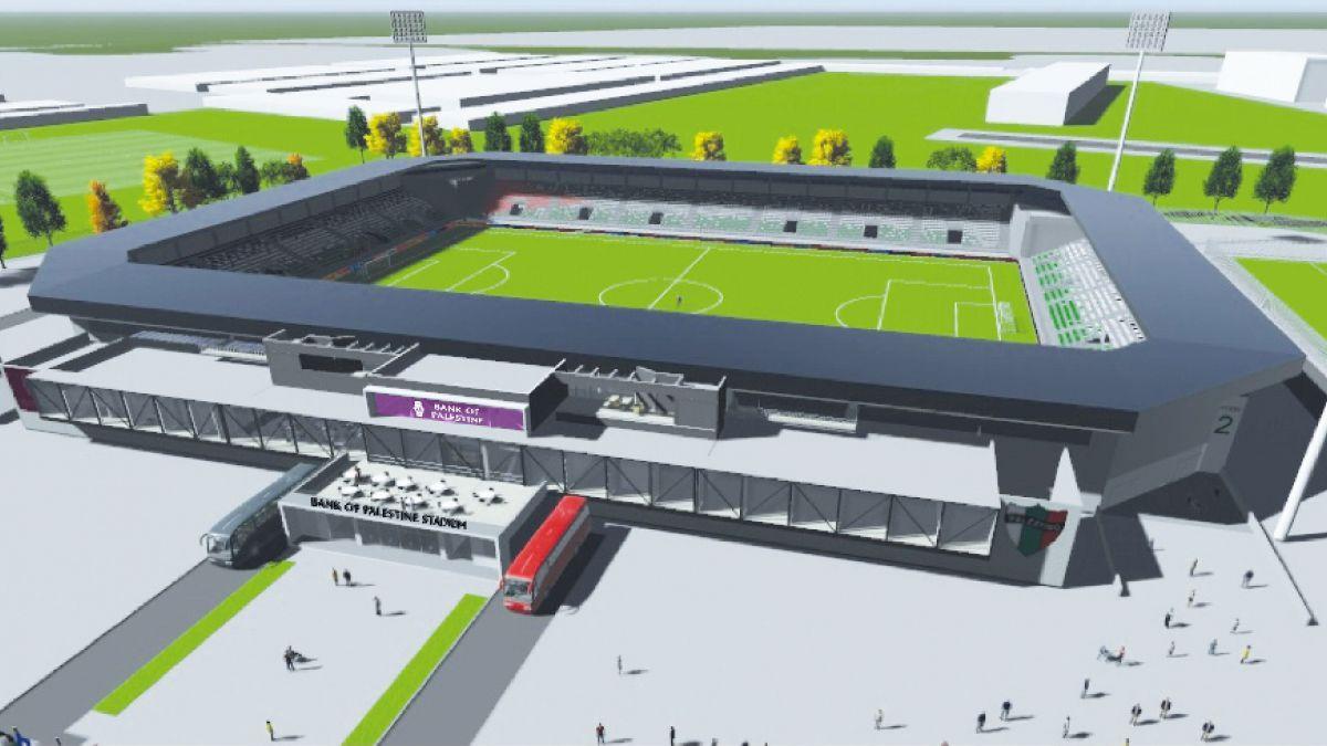 Palestino confirma la construcción de nuevo estadio con capacidad para 8 mil espectadores