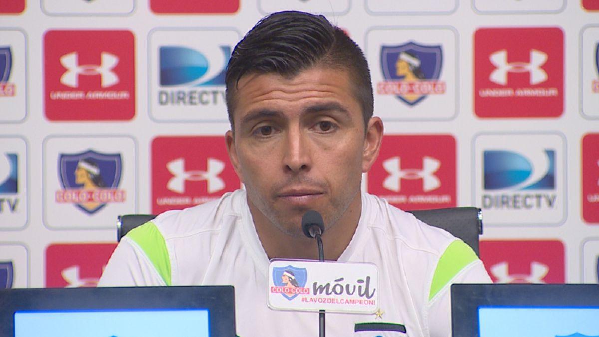 [VIDEO] Gonzalo Fierro se entusiasma con la Copa Chile: Sería lindo jugar la final con la U