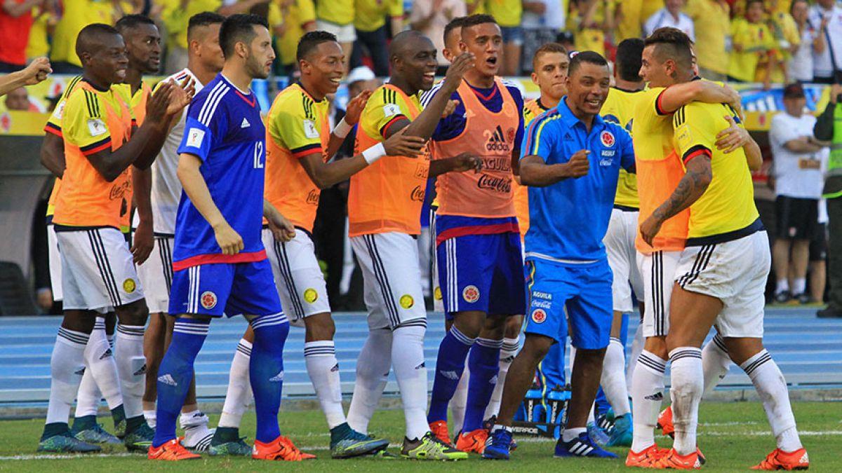 Colombia define su nómina para el duelo con Chile sin Radamel Falcao