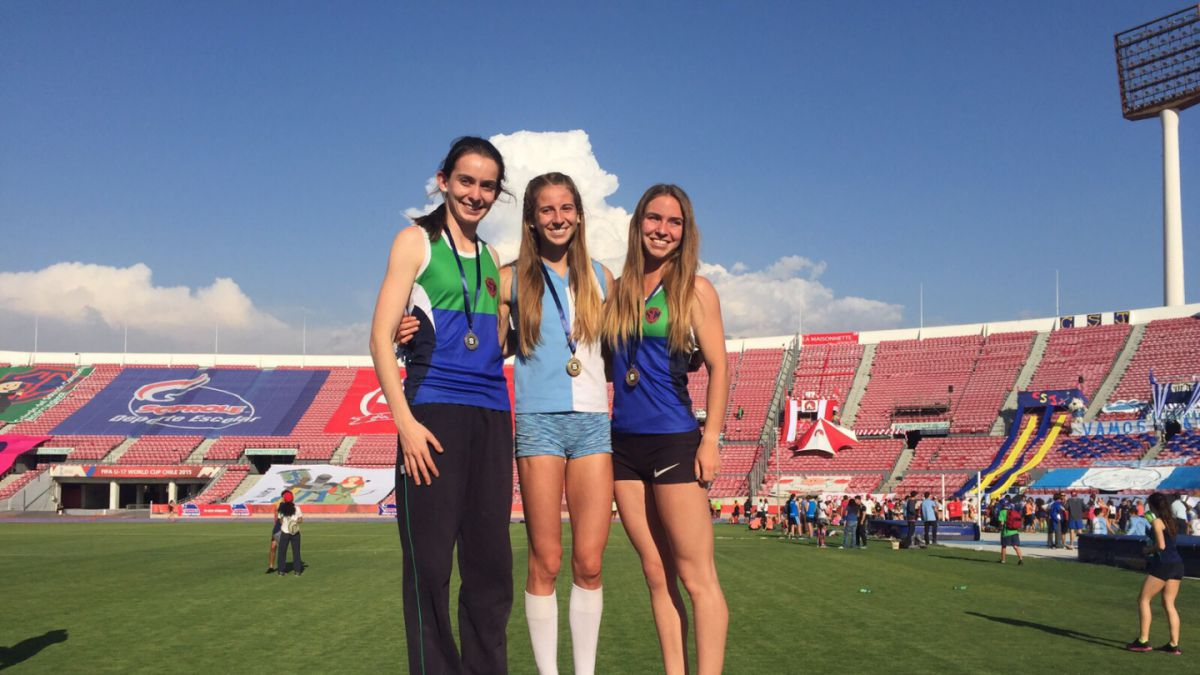 Joven atleta logra récord de Chile en salto triple de menores, juvenil y adulto