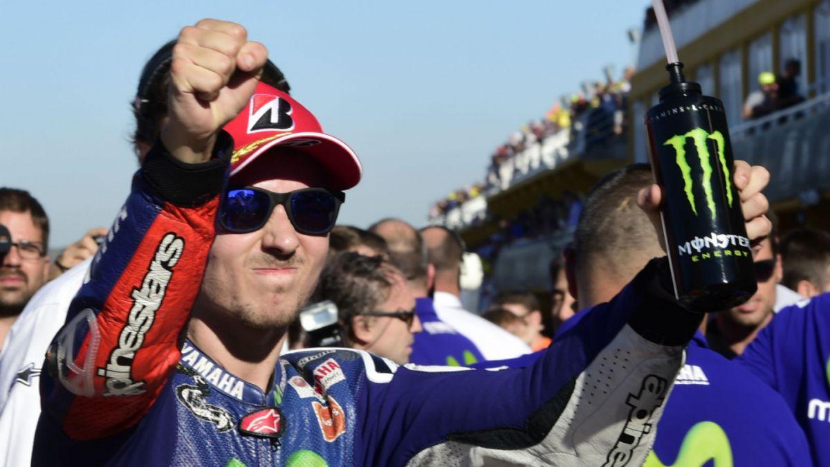 MotoGP: Jorge Lorenzo gana en Valencia y se corona campeón mundial
