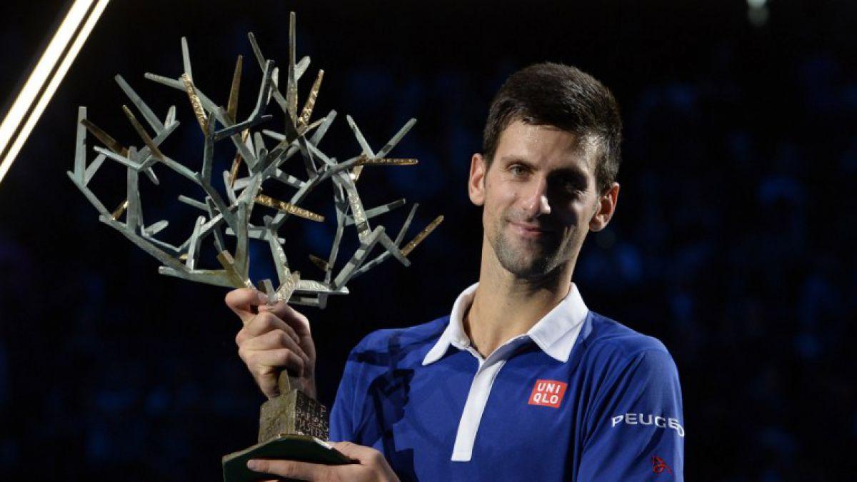 Djokovic vence a Murray y gana el Masters 1000 Paris-Bercy por cuarta vez