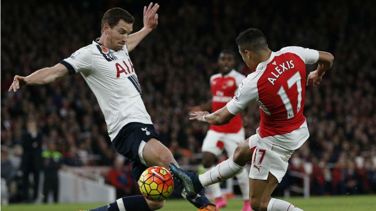 [GOL A GOL] Alexis y Arsenal empatan con Tottenham en el Derbi del Norte de Londres