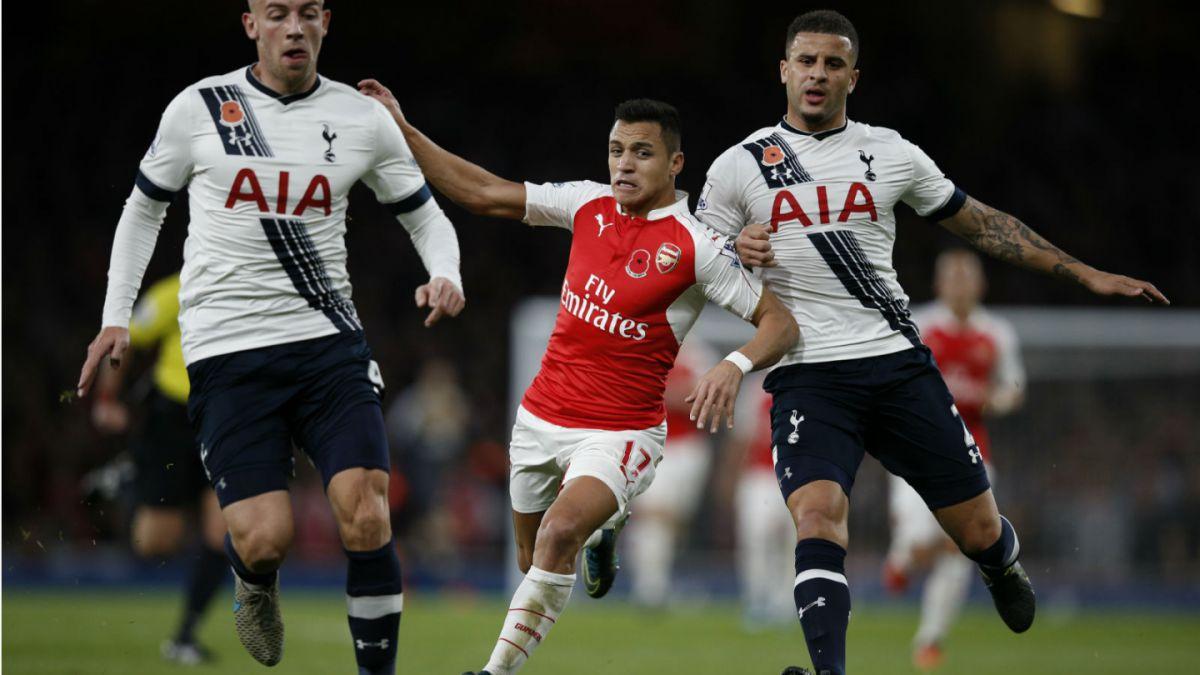 Alexis y Arsenal empatan con Tottenham y pierden oportunidad de ser líderes exclusivos de la Premier