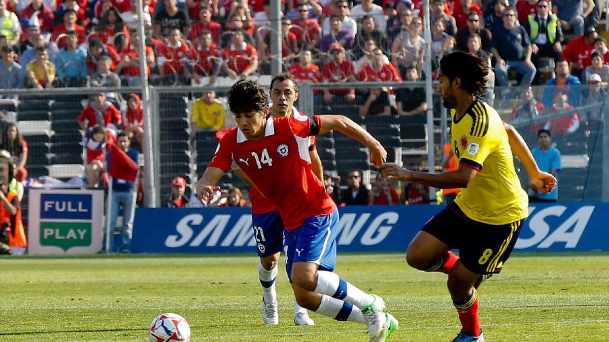¿Quién ganará el jueves? Chile y Colombia igualan en registro de duelos clasificatorios en Santiago