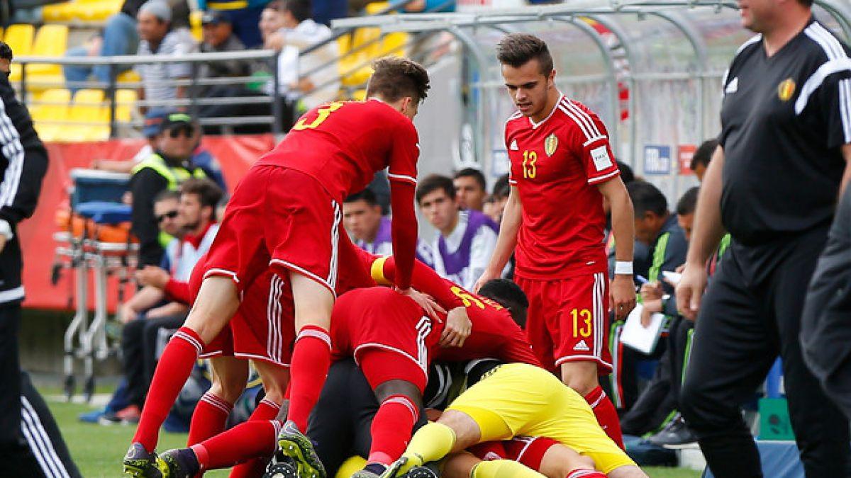 Con un golazo en la agonía Bélgica logra el 3° lugar del Mundial Sub 17
