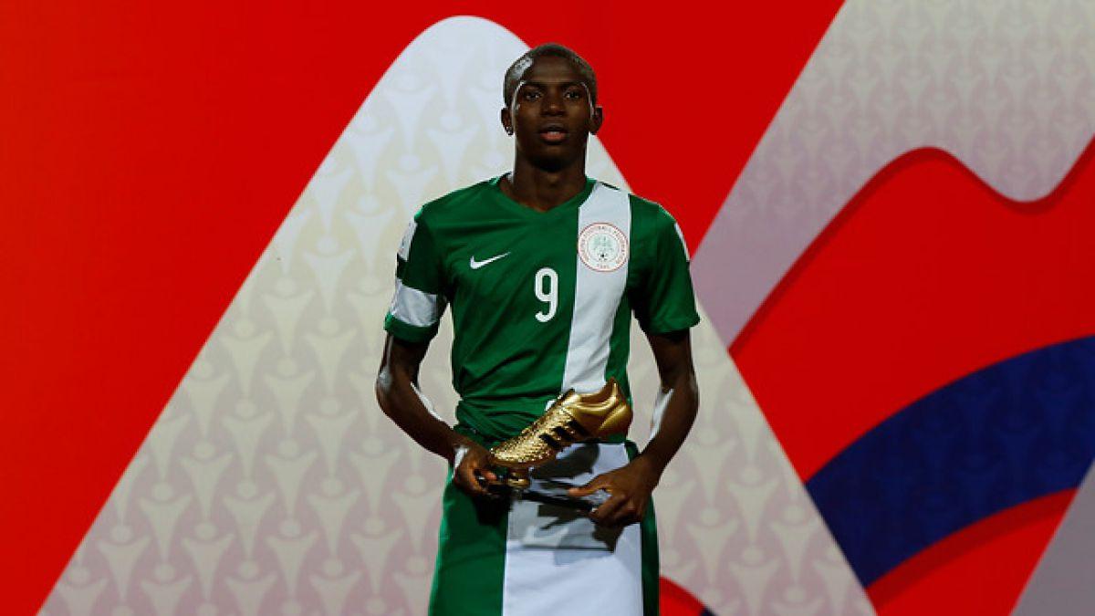 El delantero de Nigeria que entró en la historia de los Mundiales Sub 17