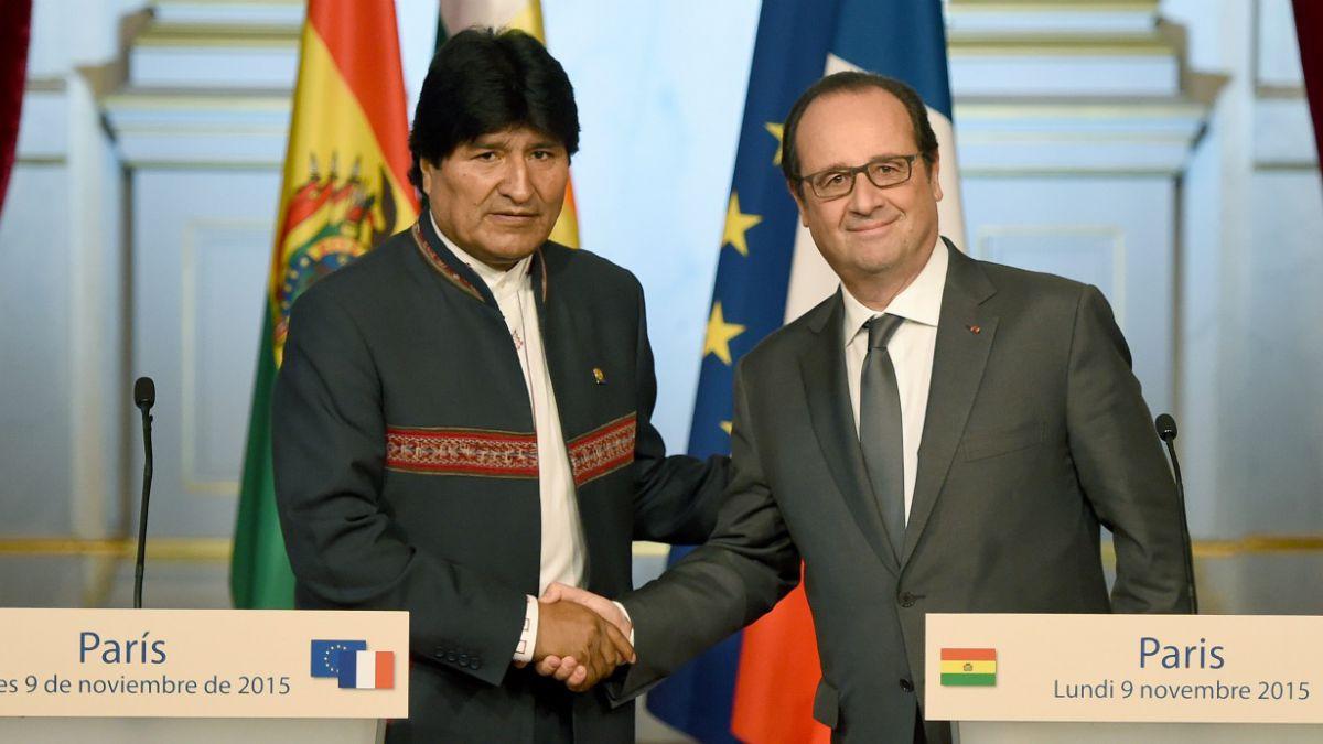 Presidente de Francia pide diálogo y más diálogo entre Chile y Bolivia por tema marítimo