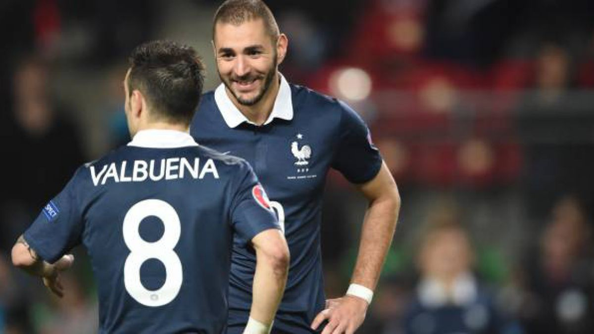 Revelan mensajes de Karim Benzema con chantajistas de Mathieu Valbuena